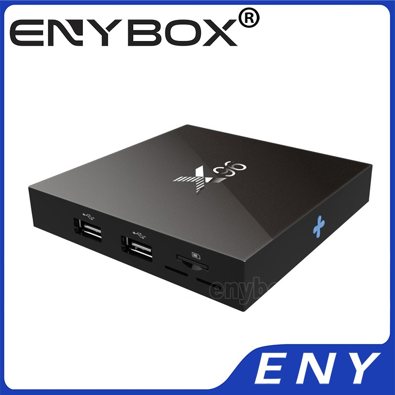 Quad Core HDMI 2.0 4K X 2K @60 fps x96 android 6.0 ott tv box with RTL8189