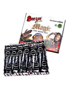 Golecha Henna Magic Fast Henna Mehandi Cone Tube Iso Certified
