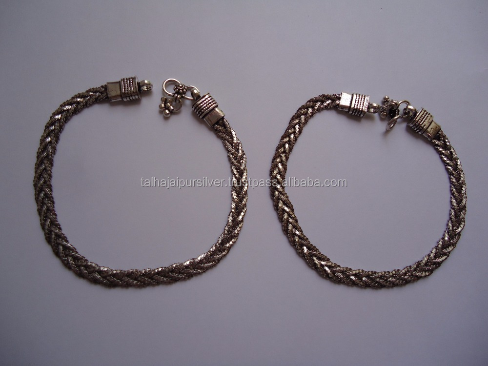 High quality newest Sterling Silver 925 wholesale Anklets designs