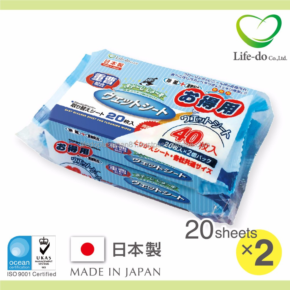 74b6cb7f115b Best Buy Popular Floor Cleaning Japanese Wet Wipes For Cleaning Wiper With  Baking Soda 20 Sheets X 2p - Buy Cleaning Wiper Product on Alibaba.com