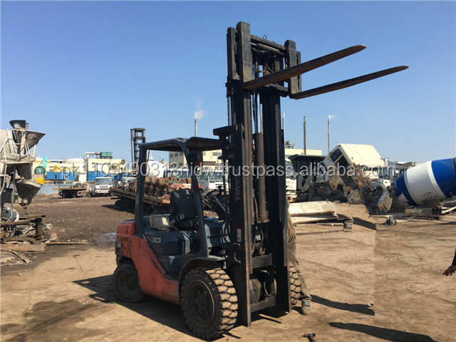 used toyota forklift 3 tons, used toyota FD30 forklift for sale