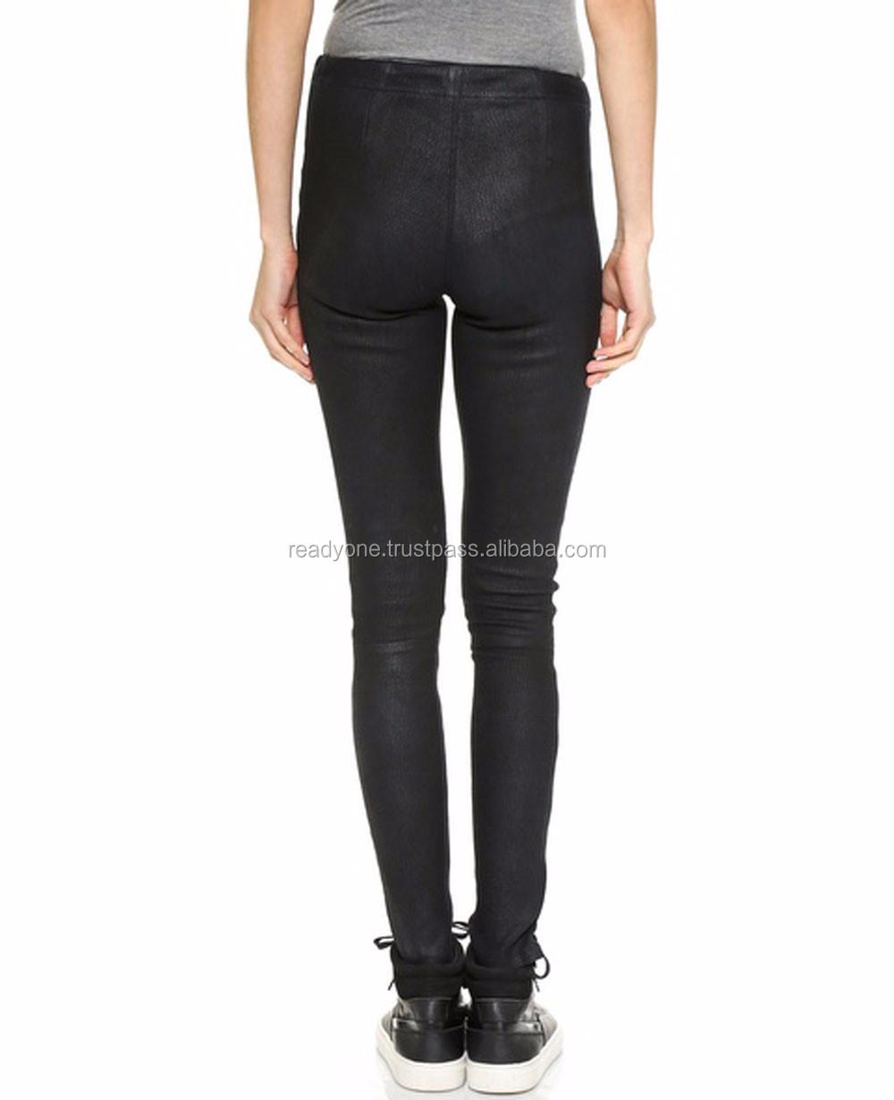 b01012598c7e88 Girls Black Faux Leather Gothic Legging Women Plus Size High waist Legging