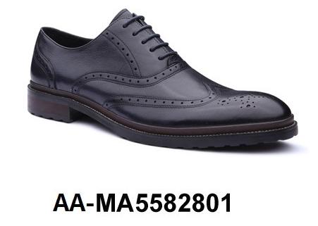 AA Men's MA5582801 Dress Leather Genuine Shoe 4pwqv4H
