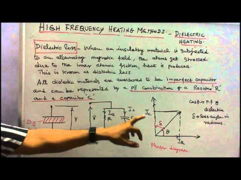 ELECTRICAL HEATING - PART 07 HIGH FREQUENCY METHODS OF HEATING - DIELECTRIC HEATING