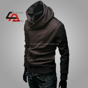 Men's Plain Hoodies Wholesale 100% Cotton Fabric Sweaters With Big ...