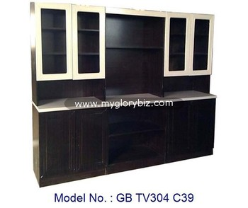 Simple Black And White Wooden Tv Cabinet In Mdf Living Furniture New