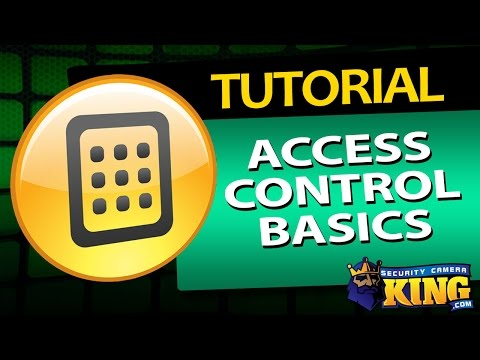 Learn the Basics of Access Control in this Video: Access Control 101