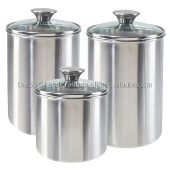 Stainless Steel Kitchen Storage Box Decorative Kitchen Container