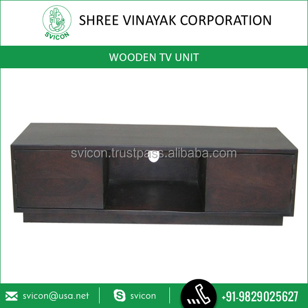 Top Selling Wooden TV Unit Available at Popular Market Rate