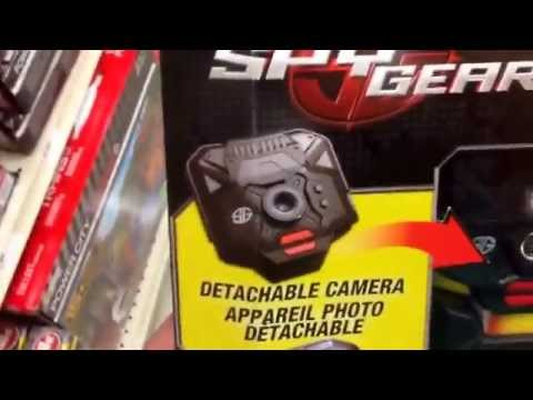 "SPY GEAR ""Undercover Spy Cam"" Cell Phone Detachable Hidden Camera Spy Toy / Toy Review"