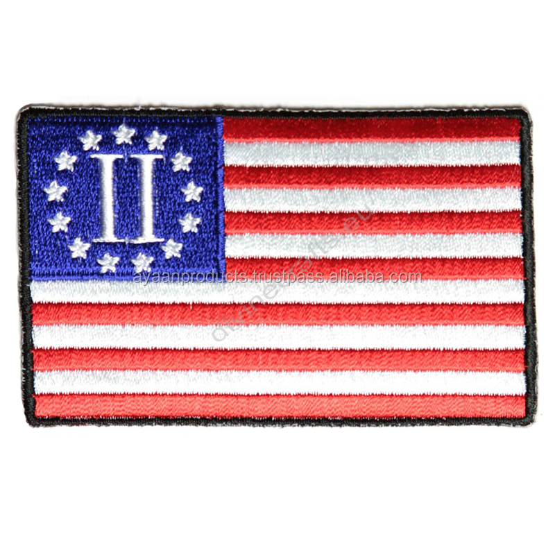 Second American Revolution Flag Patch