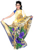 Printed Designer Glamour Saree With Blouse