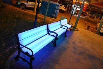 Led Bench Buy Led Light Bench Outdoor Benches Outdoor