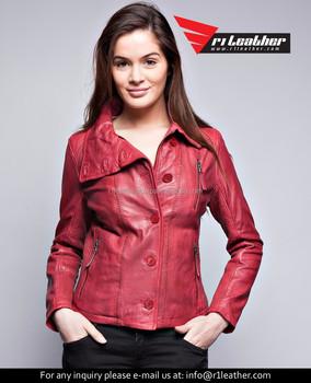 dd26430c5bd women fashion coats europe slim women coat, new 100% genuine lambskin  leather bomber biker