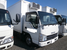 RIGHT HAND DRIVE USED CARS EXPORTED FROM JAPAN FOR ISUZU ELF TRUCK 2008 (MODEL : BKG-NJR85AN, ENGINE : 4JJ1)