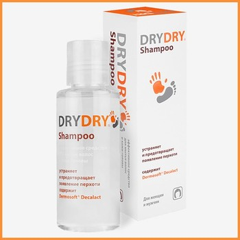 DRY DRY Shampoo - hair care product for healthy shine.