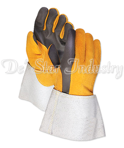 A Grade Hands Safety Leather Welding Gloves For Industry Labor