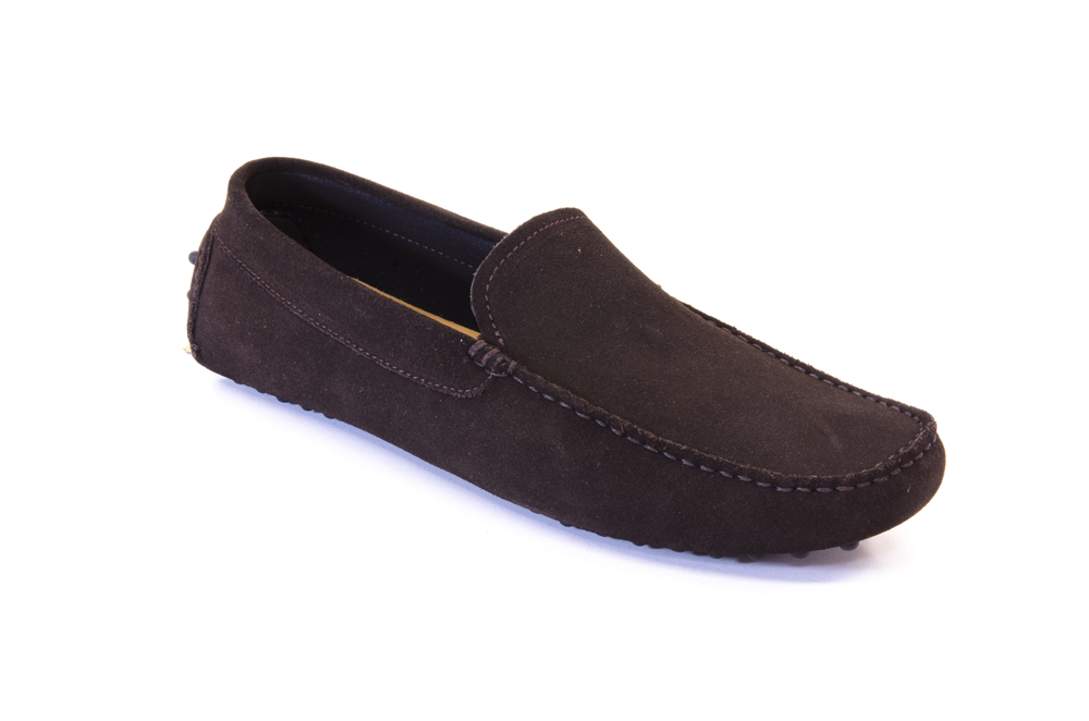 suede Fashion loafers outsole spiked for men vH7A4