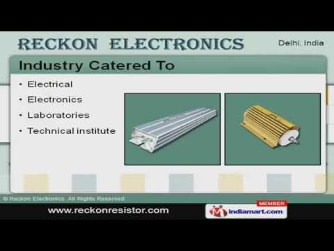 Electronic Components by Reckon Electronics, Delhi