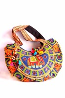 Vintage Indian handmade Old Vintage Style Patchwork Handbag Beaded Purse Indycled kantha traditional Shopper New Shoulder bag