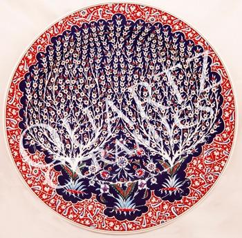 Hand Painted Turkish Ceramic Plates & Hand Painted Turkish Ceramic Plates - Buy Ceramic Hand Painted ...