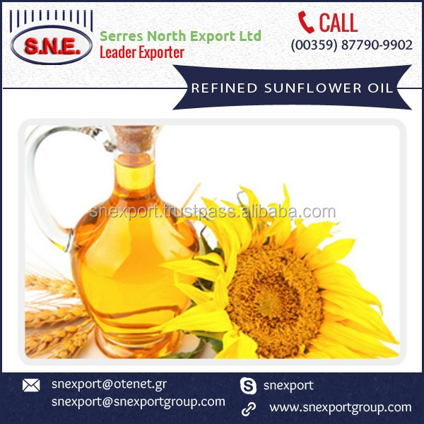 Low Fat Sunflower Pure Refined Cooking Oil for Sale