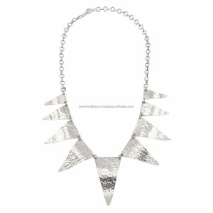 Beautiful Designs Of Handmade Bold Ethnic Princess Oxidised Silver Necklace Jewelry