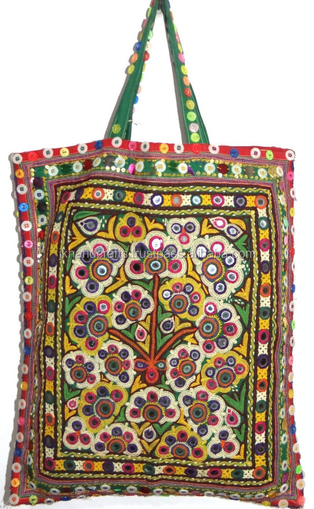 New fashionable Hand Bag Gypsy Banjara Tote Bag Tribal Banjara Hand Bag