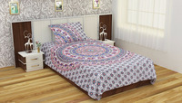 made in India traditional bohemian white duvet cover