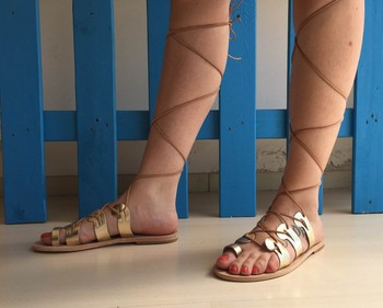 sandales On sandales De sandales En Cuir Product Buy Sandales Cuir Gladiateur Grecques sandales pGzVSMqU