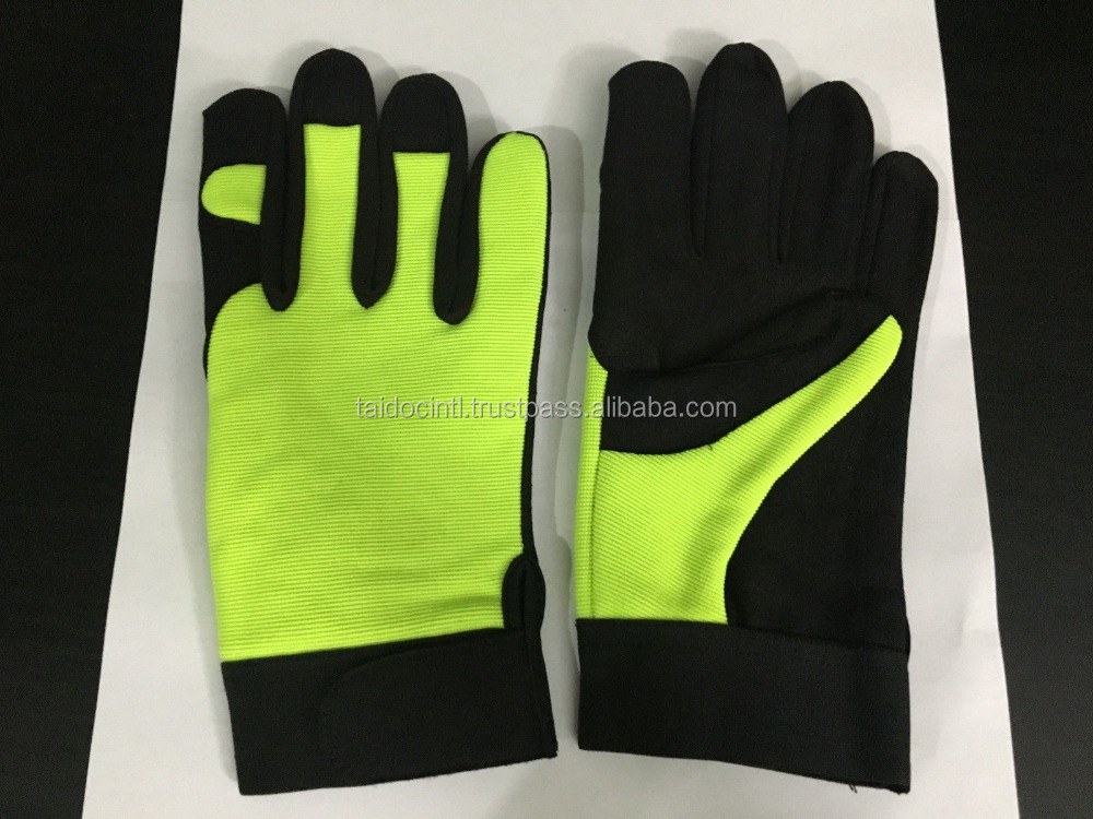 Mechanic Gloves Extreme Heavy Duty Work Gloves Safety Wear Small size