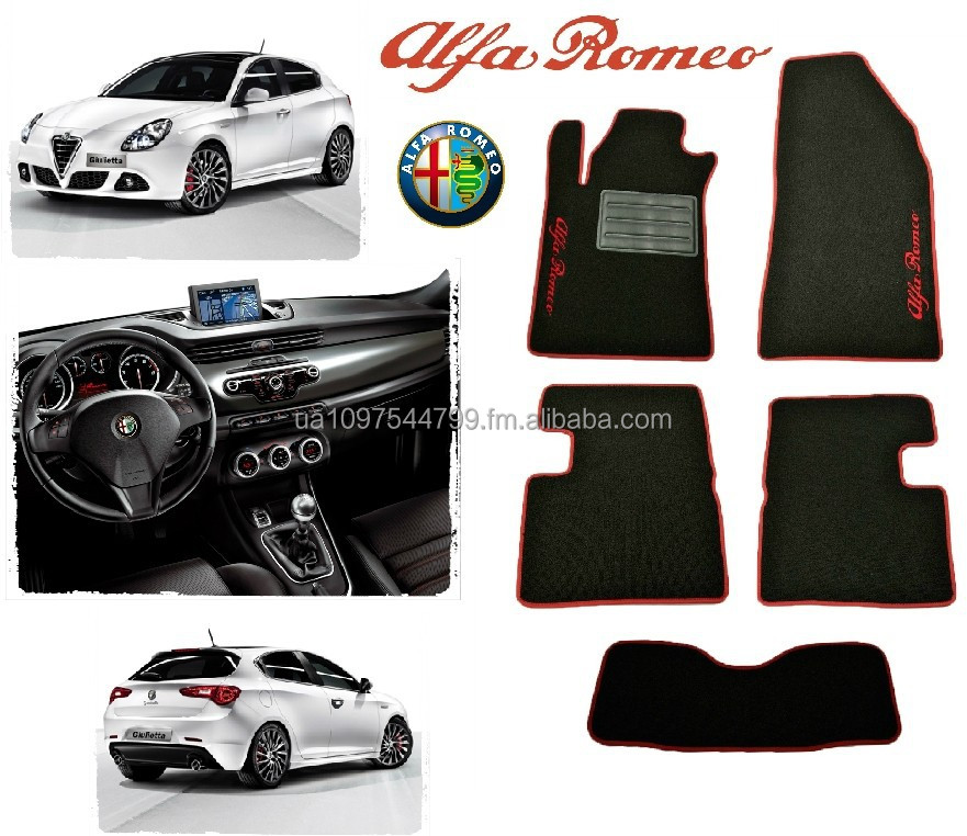Alfa Romeo Giulietta Custom Fit Carpeted Car Floor Mats Classic Loop