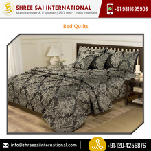 Indian Manufacturer of Bed Quilts Available for Sale at Competitive Price