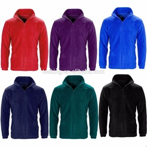 Custom anti-pilling cheap wind stopper man polar fleece jacket from Bangladesh