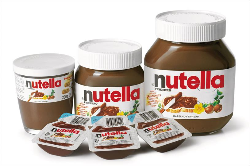 Ferrero Nutella 350g with English / Arabic Writings Hot Sales