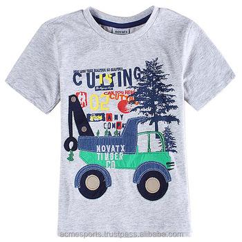 Kids t shirts 3d animal digital t shirt printing price for T shirt printing price