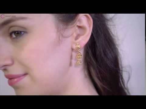Tiara Jhumkas | Gold Earrings | Jewellery