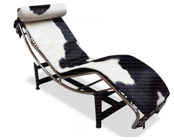 Corbusier Chaise Lounge Black And White