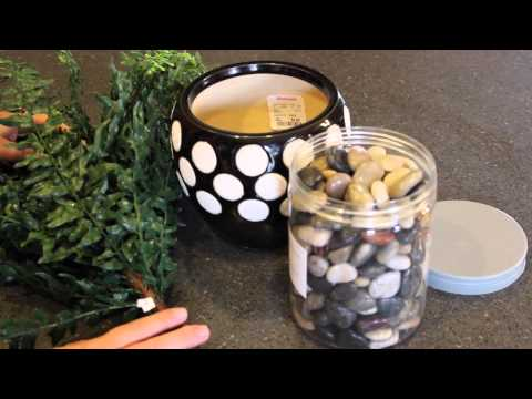DIY: Artificial Fern in a Ceramic Pot | Artificial Plants and Trees