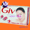 GIV Soap Bar MULBERRY SILK 80gr | Indonesia Origin | Cheap popular beauty soap with long lasting fragrance
