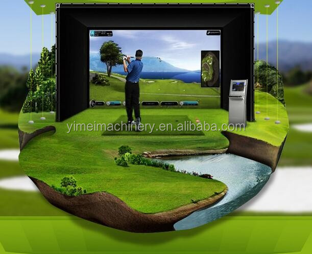 Family Golf Equipment High Definition Screen Golf