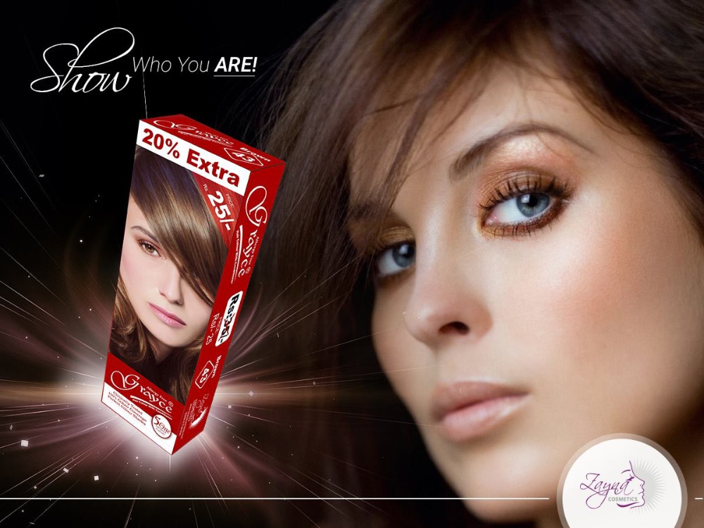 Grayce XL Hair Color and Small Hair Color