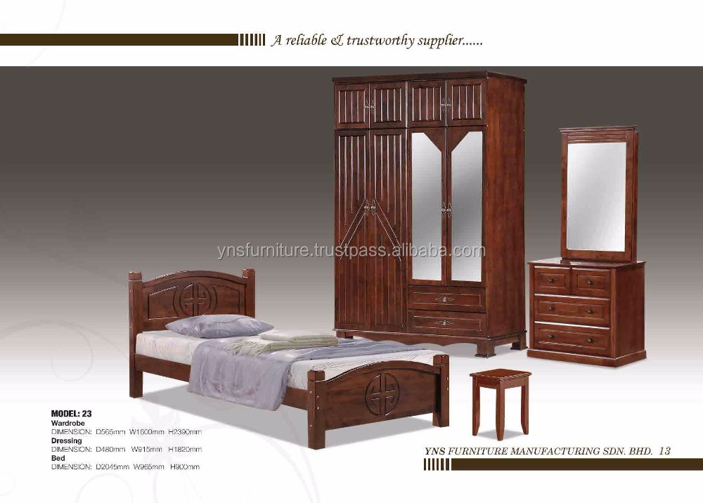 Wood almirah design in bedroom furniture