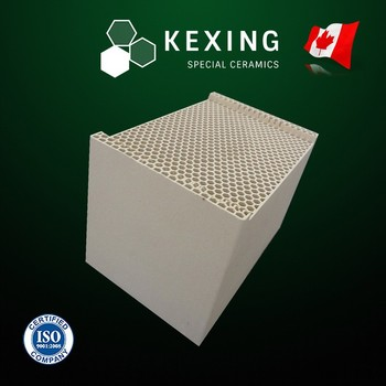 Compound of Cordierite and Mullite Monolith Honeycomb ceramic for RTO RCO