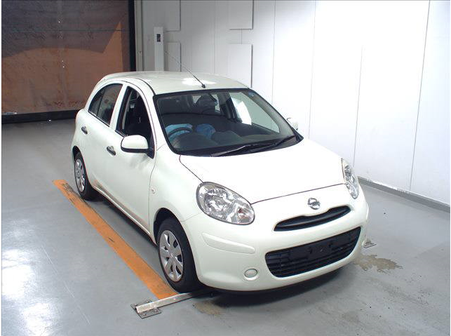 2012 NISSAN MARCH / DBA-K13 / HR12DE