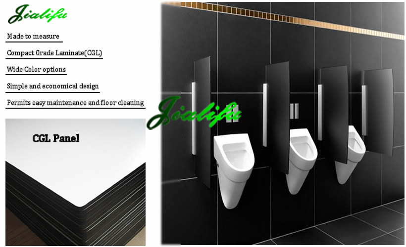 Bathroom Stall Panels commercial phenolic bathroom stall dividers for men's washroom