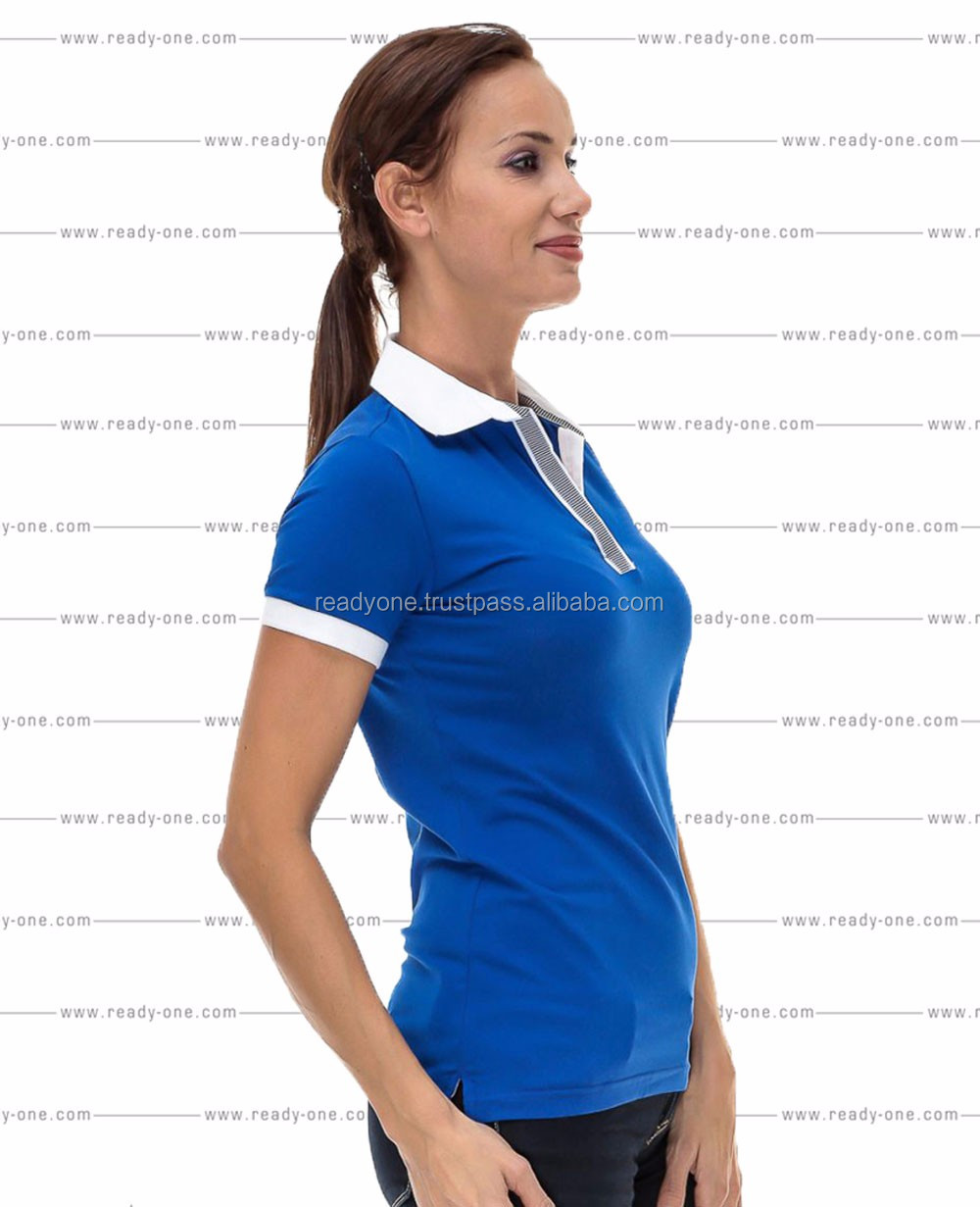 Womens ladies dri fit polo shirt made in buy oem for Women s dri fit polo shirts wholesale