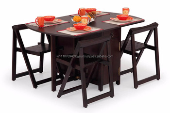 Ekbote Furniture Dining Room Folding Table And Chair Set Buy