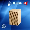 Honeycomb ceramic for RTO RCO