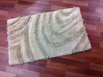 highlow pile chenille bath mats